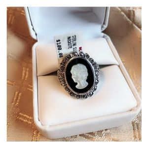 Jewelry - Sterling Silver Marcasite Ring